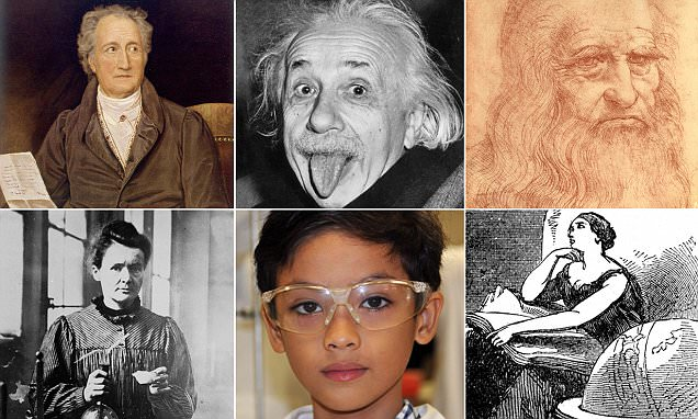 The world's smartest people of all time revealed