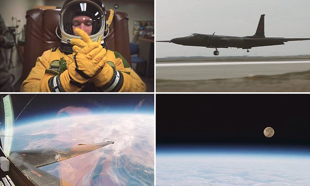 Video reveals what it is like to fly U-2 spy plane to the edge of space