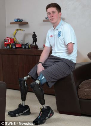 Corporal Tom Neathway lost three limbs in a bomb blast while serving in Afghanistan