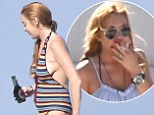 Lindsay Lohan tries her hand at fishing in Italy with friends\n29 July 2016.\nPlease byline: Vantagenews.com