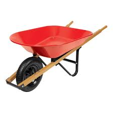 wheelbarrow garden cart