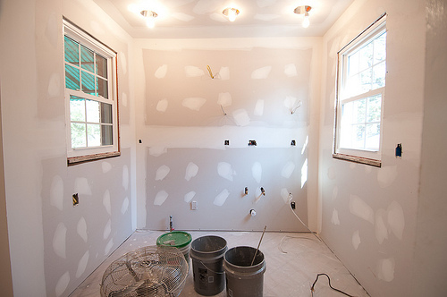 Drywall and Recessed Lights