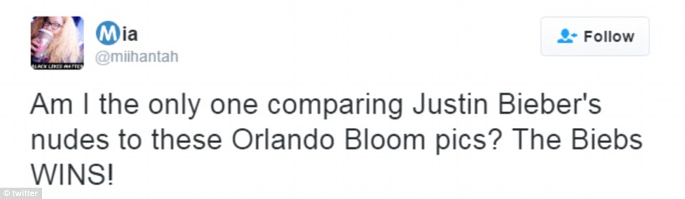 Fighting back: Twitter was divided as fans pledged their allegiance to either Team Bieber or Team Bloom