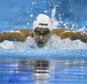 Refugee Olympic Team's Yusra Mardini takes part in the women's 100m butterfly heats on August 6, 2016 ©Martin Bureau (AFP)
