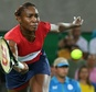 Four-time gold medallist Venus Williams, suffering with a virus, slumped to her first ever opening round loss to Belgium's Kirsten Flipkens at an Olympic Games ©Luis Acosta (AFP)