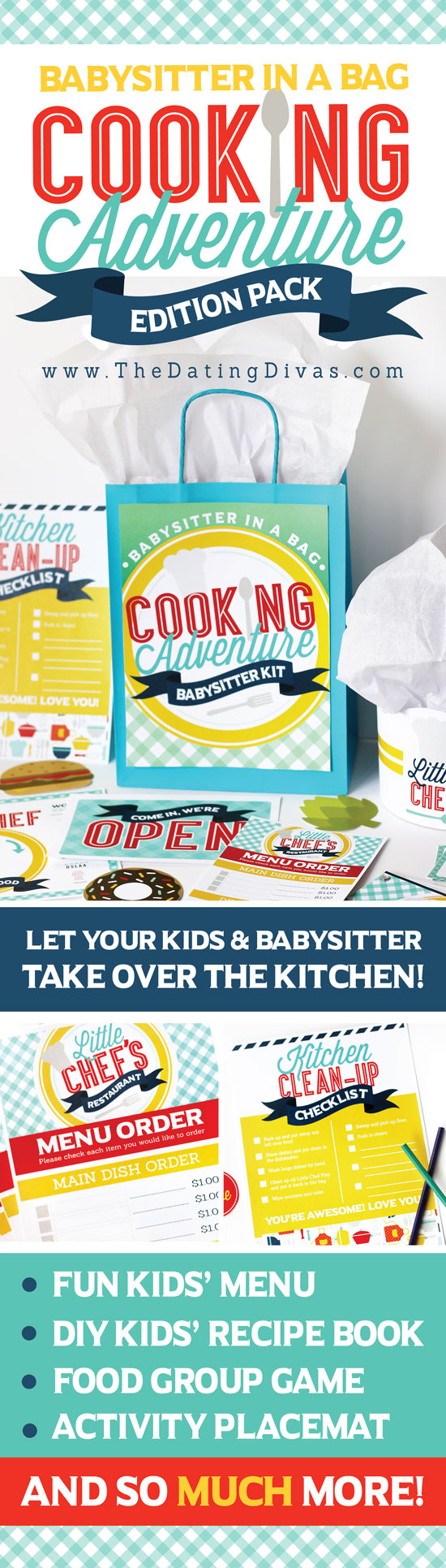Babysitter in a Bag Cooking with Kids