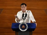 Philippine President Rodrigo Duterte has listed seven judges and over 25 current or former congressmen, mayors and other local officials whom he alleges are involved in illegal drugs ©Ted Aljibe (AFP)