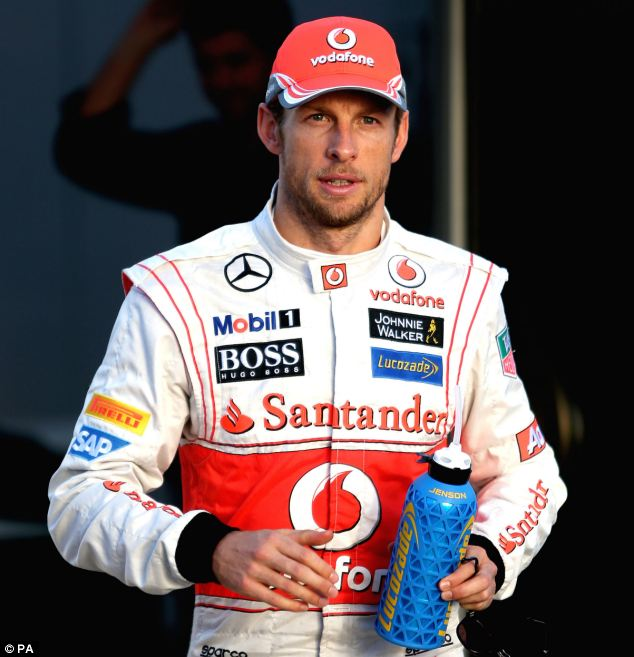 Not exciting: The rivalry with Fernando Alonso excites Hamilton more than any potential rivalry with Button