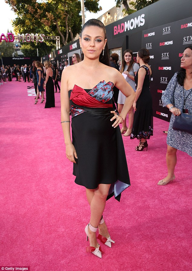 Prized possession:Mila Kunis revealed that instead of wearing her expensive engagement ring from Tiffany & Co., she keeps it hidden away