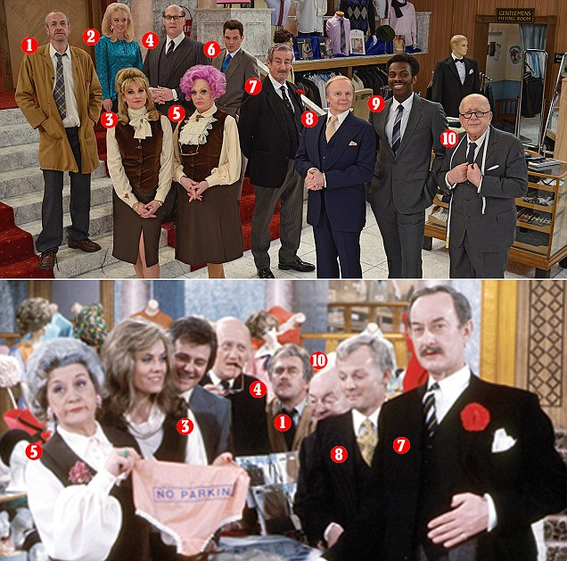 Cast of Are You Being Served? in one-off special revealed
