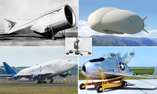 The strangest aircraft ever to take off revealed