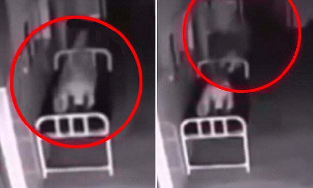 Eerie video shows woman 'floating out of body' after her death in Chinese hospital
