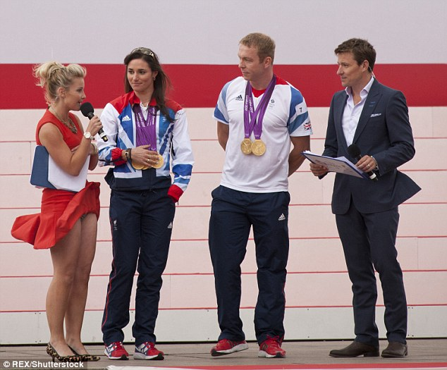 Oops! The incident came after Helen famously flashed her underwear at the London 2012 Olympic Parade whilst interviewing Sarah Storey and Chris Hoy with co-host Ben Shephard
