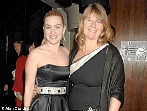 The Win-slets: While Kate has been earning plaudits for her acting, her Mum Sally has been named Queen of the Shallots