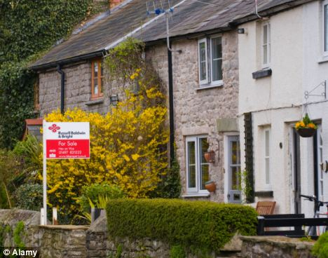 For sale: House prices have dipped across the UK, apart from in the capital