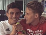 Tom daley olympic Danniel Goodfellow