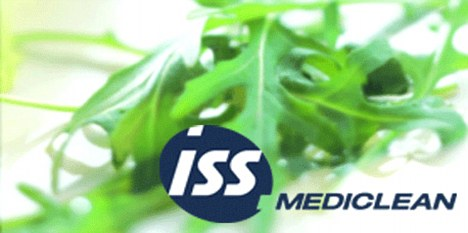 Logo: ISS Mediclean is part of a group with than 43,000 staff at UK hospitals
