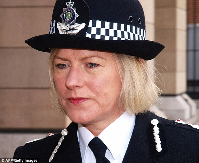 Recommendations: Sara Thornton, Chief Constable of Thames Valley police and vice president of Acpo, said the report would be considered carefully