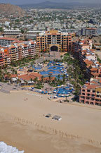 aerial view of playa grande resort and spa in cabo san lucas mexico