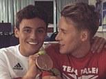 Tom daley olympic Danniel Goodfellow