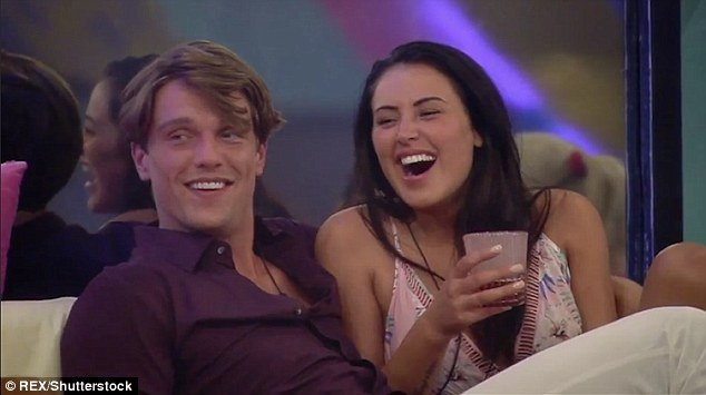A match made in reality TV heaven: Marnie Simpson and Lewis Bloor have stepped things up a gear with Lewis admitting his love for the Geordie Shore starlet during a rap