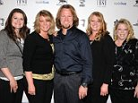 Mandatory Credit: Photo by REX/Shutterstock (1695478a)\n'Sister Wives' cast\n'Mike Tyson: Undisputed Truth, Live on Stage' Grand Opening Show at the Hollywood Theatre at the MGM Grand, Las Vegas, America - 14 Apr 2012\n\n