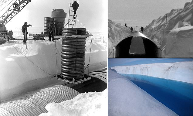 Global warming could release waste from Cold War military base buried in Greenland ice