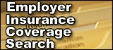Employer insurance coverage search