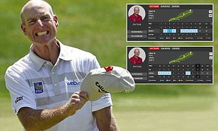 Jim Furyk cards stunning final round of 58 at the Travelers Championship