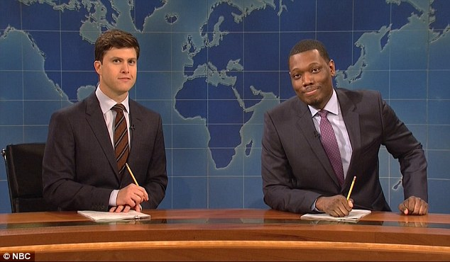 News you can use:The night's Weekend Update section poked fun at Ben Carson's collection of malpractice lawsuits - including a man who reported that he'd left a sponge in his brain