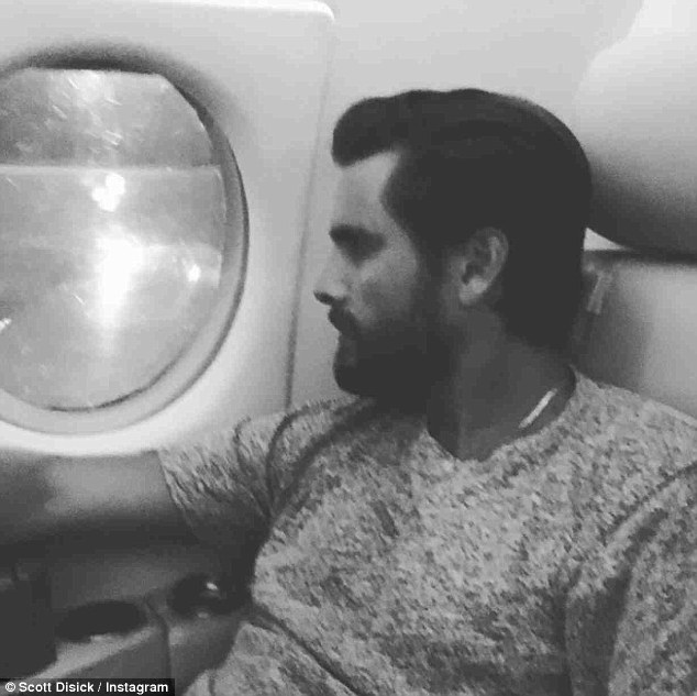 'Let's get this place ready for action': Lord Disick landed in Las Vegas via private jet earlier that day