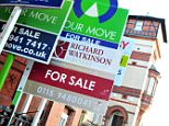 A general view of for sale signs outside a block of flats. Confidence in the housing market has fallen to its lowest level for two years as people worry about Government spending cuts and the ongoing problems in the mortgage market, a survey suggested today. PRESS ASSOCIATION Photo. Issue date: Monday January 10, 2011. Only 54% of homeowners think house prices will increase in the coming six months, down from 81% a year ago and 63% just three months earlier, according to property website Zoopla.co.uk. See PA story MONEY House. File photo dated 12/10/2010. Photo credit should read: Rebekah Downes/PA Wire. Embargoed to 0001 Monday January 10
