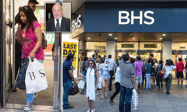 BHS' flagship Oxford Street store closes doors on 88 years of shopping history