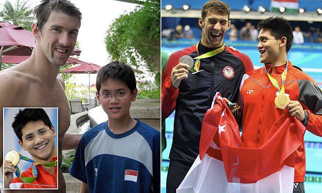 How Singapore's 21-year-old Joseph Schooling beat his IDOL Michael Phelps: Gold medalist