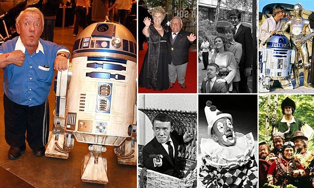 Kenny Baker who portrayed Star Wars' R2-D2 is dead at 81