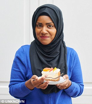 Great British Bake Off winner Nadiya Hussain, pictured, revealed she has suffered so much racial abuse in her life she has 'come to expect it'