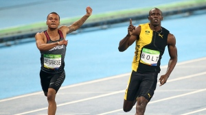 'He came through again,' Usain Bolt commends Andre De Grasse