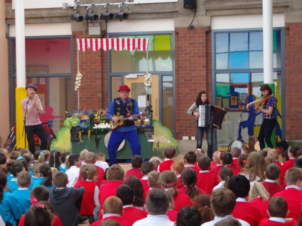 The BarrowBand at Drumpark Greenhill Primary School, Scotland
