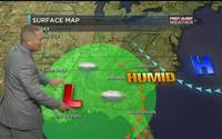 WBTV First Weather Alert forecast for 08.12.16