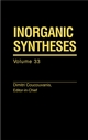 Inorganic Syntheses, Volume 33 (0471208256) cover image