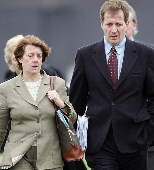 Labour peer Baroness Sally Morgan (pictured with Alastair Campbell) currently chairs the schools inspectorate Ofsted, but has reportedly been told she will not be given a second three-year term at the watchdog