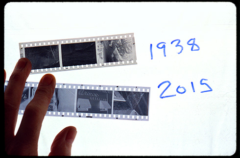 1938 versus 2015 samples of 35mm film