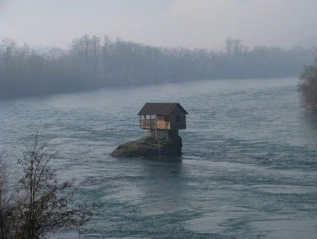 The house has been battered by wind, rain and floods for 45 years