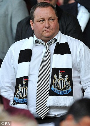 Sports Direct is owned by Mike Ashley, the 22nd richest person in Britain with a £3.5billion fortune