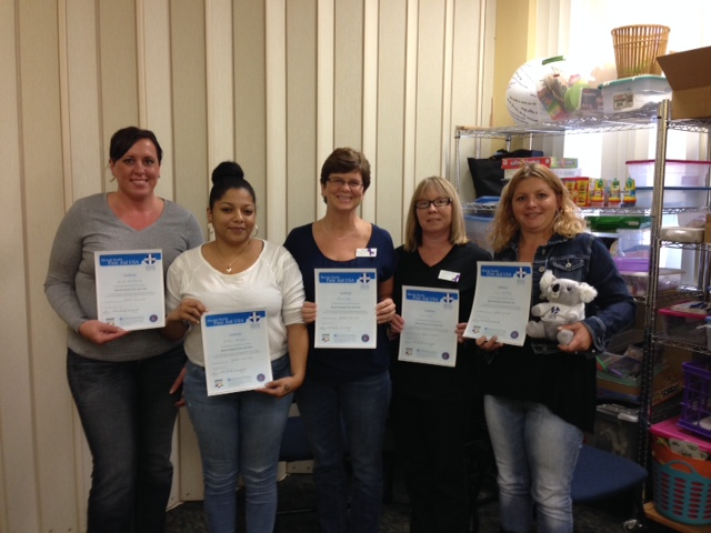 photo of Starting Point Staff at mental health first aid graduation