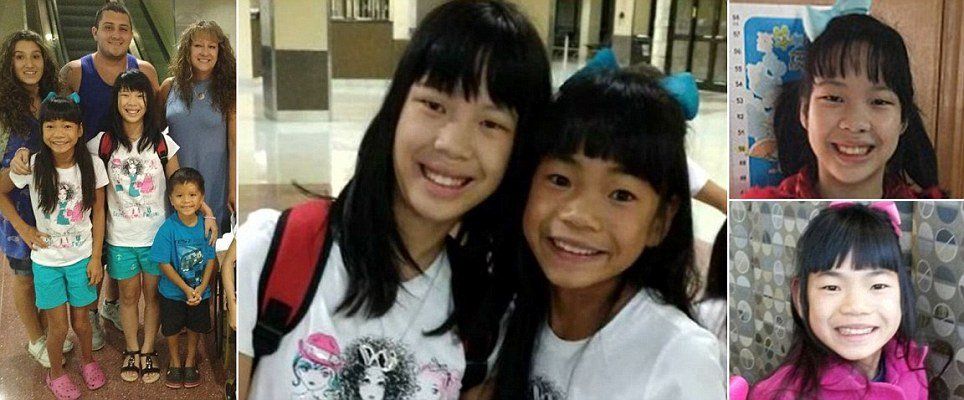 Sisters who were split up at a Chinese orphanage together again at last