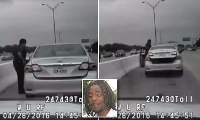 Houston cop cleared by grand jury after shooting dead black man Ashtian Barnes