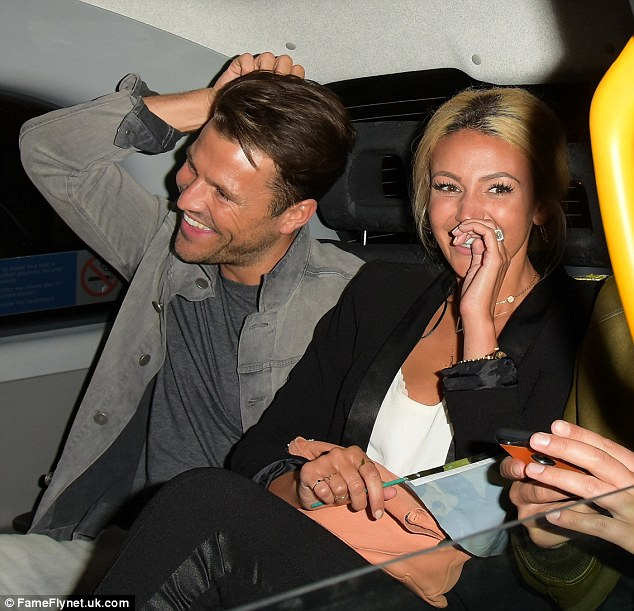 Happier than ever!Michelle Keegan went further than showing off her ring as she later stepped out with her husband Mark Wright for a celebratory night out after the launch, as the duo remain defiant in the face of rumoured strife in their marriage