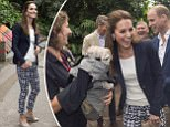 \nThe Duke and Duchess of Cambridge visited the Eden Project The royal couple spent most of their visit in Rain Forest Biome \nPicture: Arthur Edwards