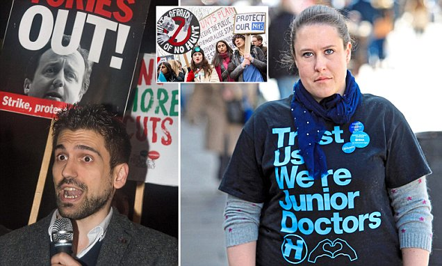 EXPOSED: The hard-Left doctors who care more about bashing the Tories than your health